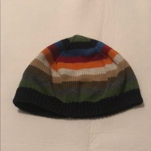 Gymboree striped coloured winter hat